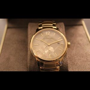 Burberry Accessories - Burberry Gold Watch